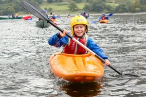 Adventure Learning, Kayaking on Ullswater