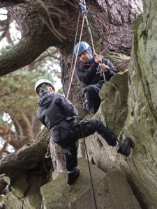 Activities Abseiling