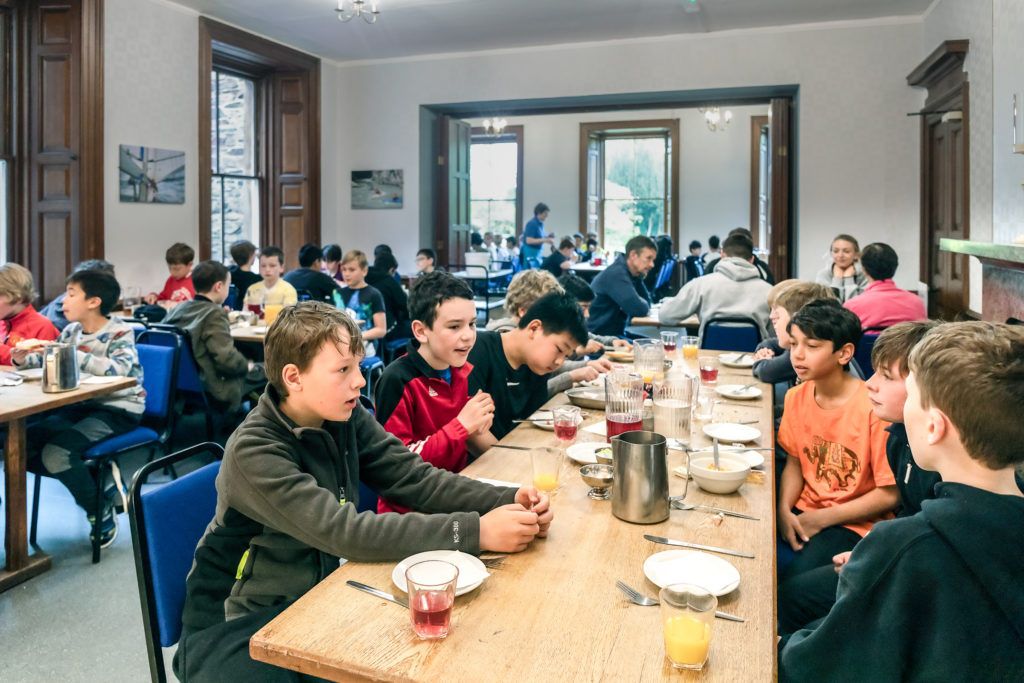 Patterdale Hall Dining room enjoyed